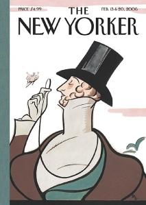 Una de las célebres portadas del semanario The New Yorker
