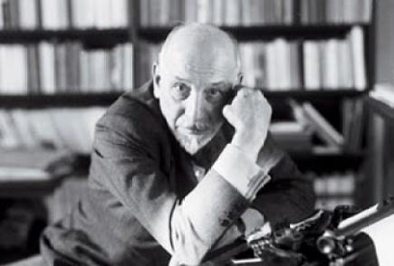 El escritor italiano Luigi Prirandello