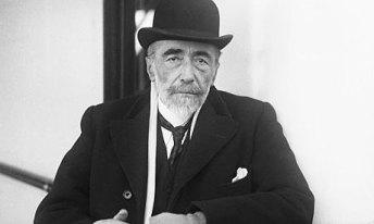 El escritor Joseph Conrad