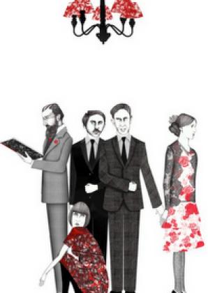 Ilustración de Círculo de Bloomsbury (c) Sara Morante
