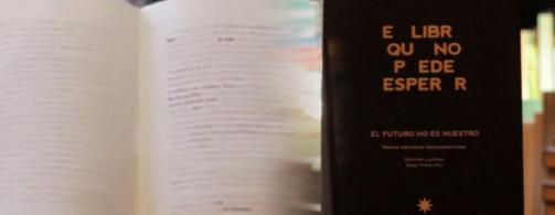 El libro que no puede esperar, editorial Eterna Cadencia