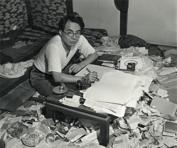 Ango Sakaguchi, autor de En el bosque, bajo los cerezos en flor