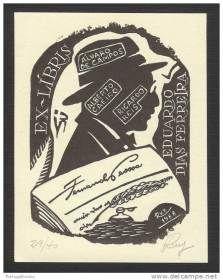 Ex-libris Fernando Pessoa