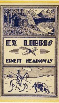 Ex-libris Hemingway
