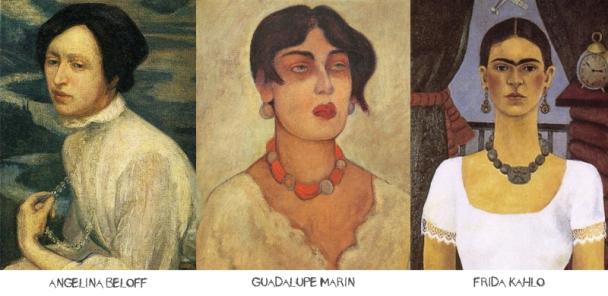 Las tres mujeres de Diego Rivera