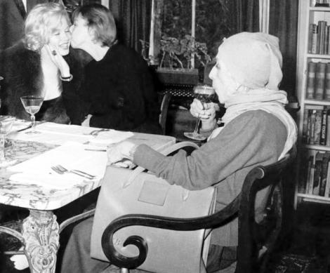 Carson McCullers, Isak Dinesen y Marilyn Monroe en 1959