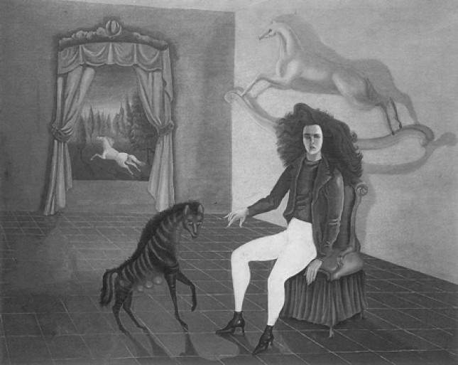 Leonora Carrington - Autorretrato